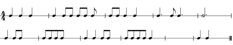 Exercises in Rhythm and Pitch Junior Cert Music B : 1415659 from juniorcertmusicb.weebly.com size 794 x 156 png 8kB